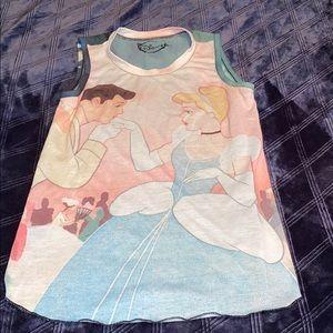 Disney Cinderella and Prince Charming tank